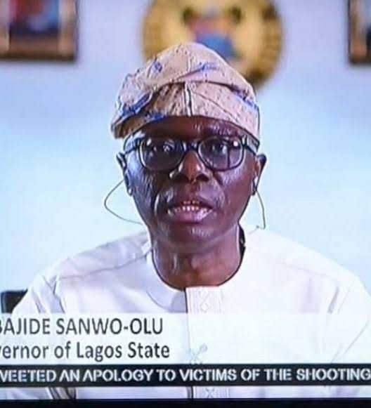 Endsars Governor Sanwo Olu Replies A Lady Who Asked Him To Summarize Pres Buharis Speech 1