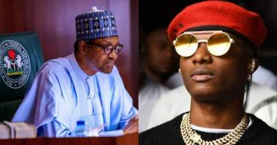 "God, pls help Nigeria"" - Wizkid Tweets after Buhari's speech"