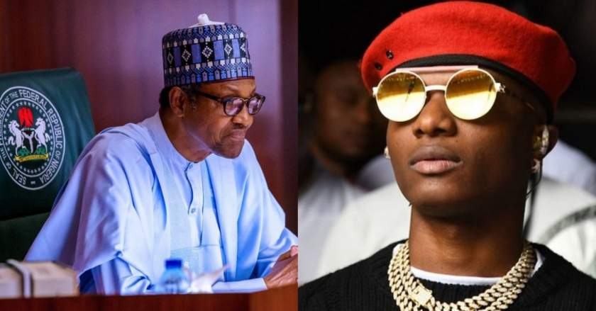 God Pls Help Nigeria Wizkid Tweets After President Buharis Speeech