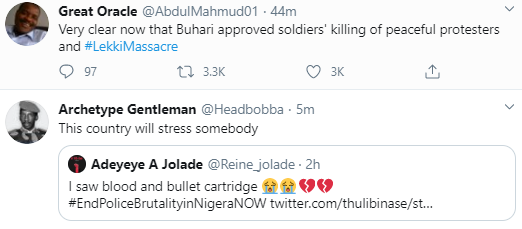 Jubril Is At Home Watching His Pre Recorded Video Nigerians React To Buharis Speech On Endsars Protests 4