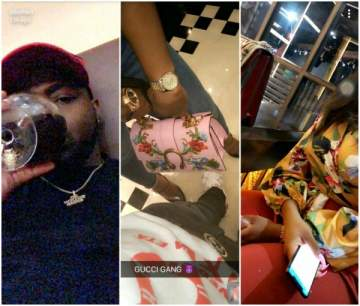 New Girlfriend alert? Davido and 'girlfriend' caught up in Gucci romance