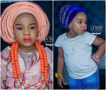 3-year-old slays in makeup for her birthday photoshoot