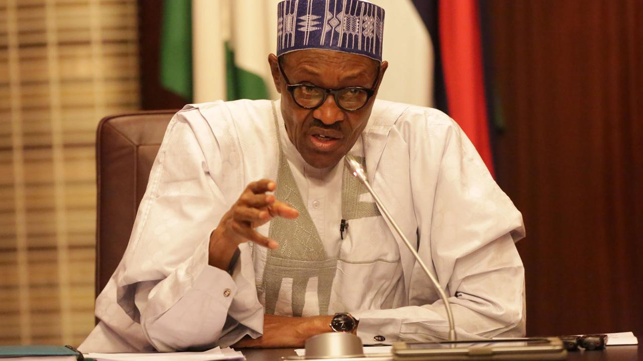 President Muhammadu Buhari In AGH