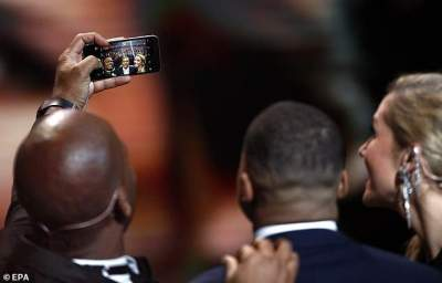 "Ballon D'or: Drogba's iPhone 6 Surprises Fans. ""Don't Be Too Materialistic!"""