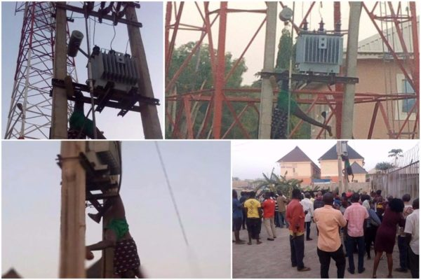 Man Electrocuted While Trying To Steal From Transformer In Kaduna Photos Lailasnews 1