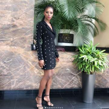 #BBNaija Ex-housemate Khloe Steps Out In Style (Photos)