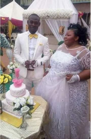 White Wedding Photos Of Plus-Sized Lady Whose Pre-Wedding Photos Went Viral