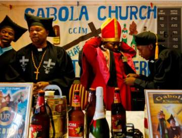 Inside Gabola Church In South Africa Where Alcohol Is Required For Worship And Baptism (Photos)