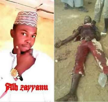 Young Man Gruesomely Stabbed To Death Over A Disagreement (Photos)