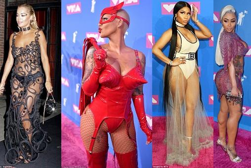 Nicki Minaj, Blac Chyna, Amber Rose, and Sky lead 2018 VMA's Worst dressed celebrities (Photos)