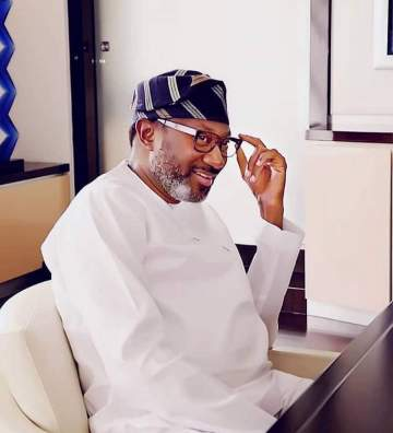 Femi Otedola offers scholarship to little girl singing DJ Cuppy's new song Gelato