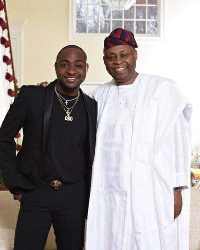 Davido And Dadd