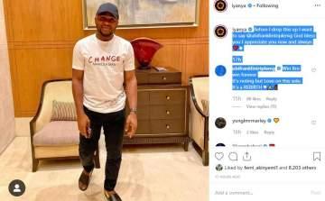 Singer Iyanya finally ends beef with Ubi Franklin