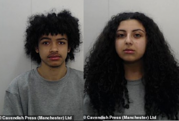 17-year-old student jailed for 16 years for encouraging her boyfriend to 'prove his love' by killing his ex-girlfriend