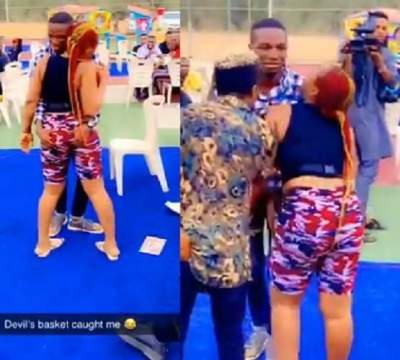 """Videos: """"Oluwa wetin dey sodom and gomoralize"""" - Twitter users react as #OgunTwitterHangout turned indecent"""