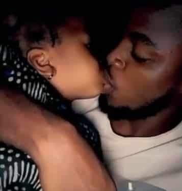 """""""I only made the video because of our likeness for each other' - Man apologizes for sucking on his baby sister's lips (Video)"""