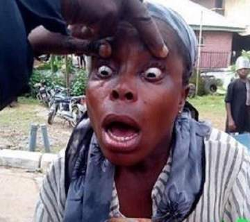 Fake blind beggar exposed and arrested in Ebonyi (Photos)