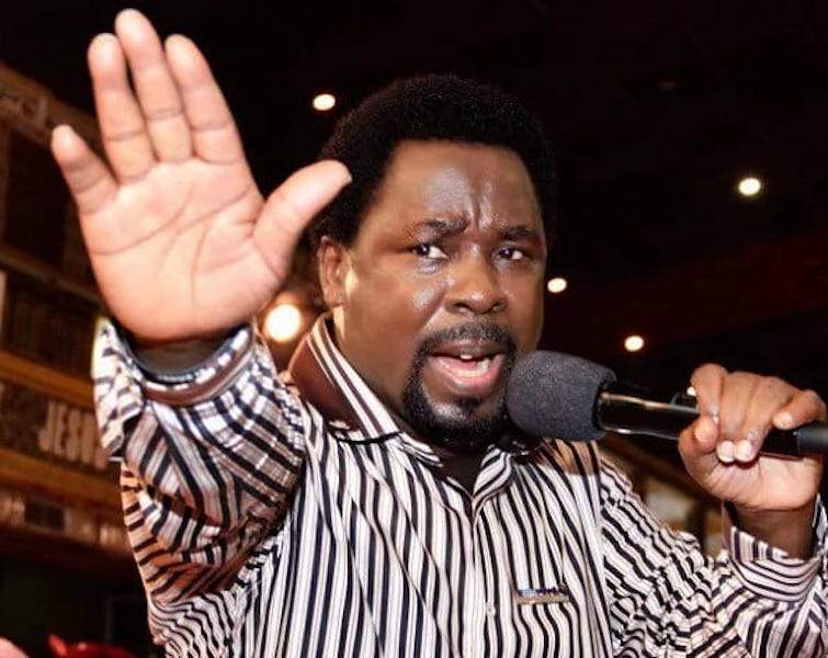 Prophet TB Joshua begs government to release coronavirus patients to him for prayers