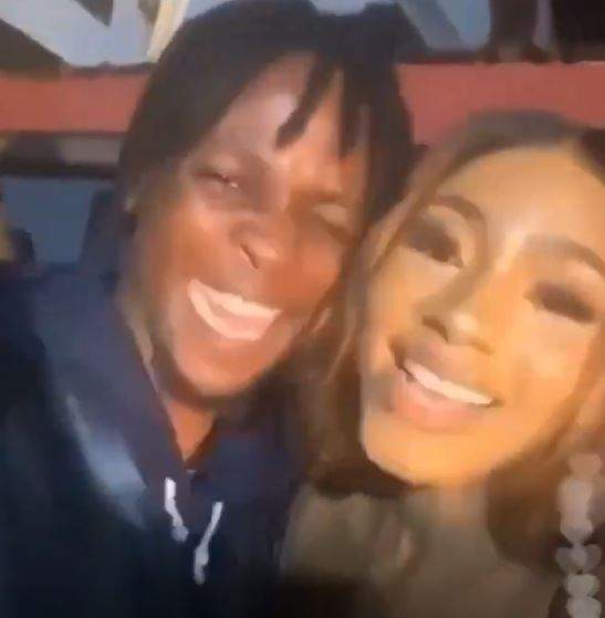 Mercy Eke's reaction after meeting Laycon for the first time. (VIDEO)