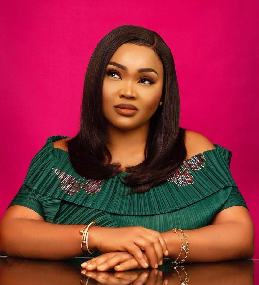 """""""She's learning from you, madam"""" - Reactions as Mercy Aigbe complained about her daughter's new photos"""