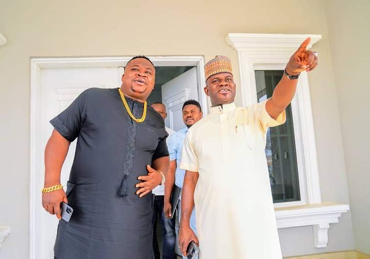 """""""Yahaya Bello is the future"""" - Cubana Chief Priest says as he meets him for the first time"""