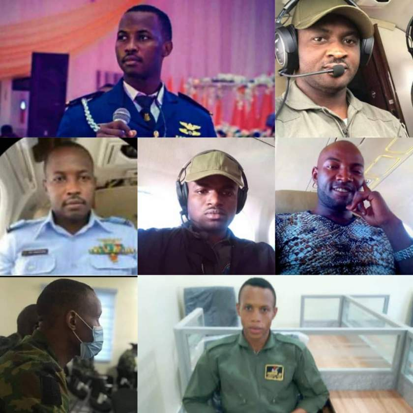 Nigerian Air Force releases names of victims of military plane crash (photos)