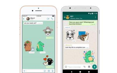 WhatsApp Update Finally Adds Support For Stickers
