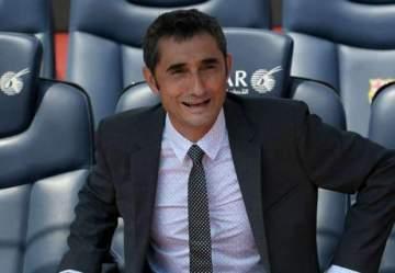 Barcelona coach, Ernesto Valverde names 'best manager' in world football