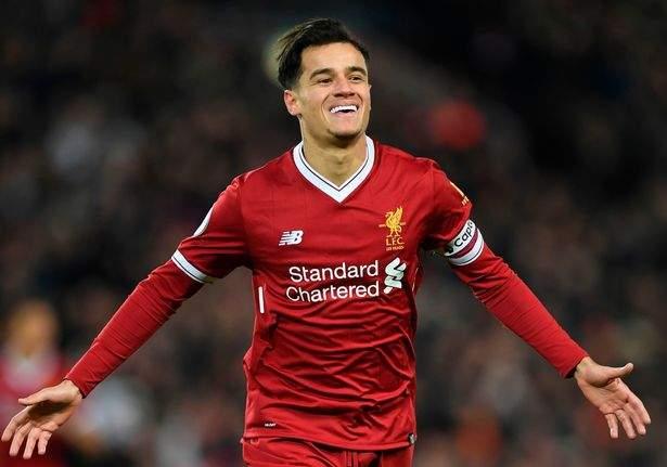 Coutinho Liverpool 9933