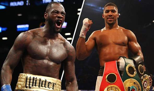 Anthony Joshua And Deontay Wilder 888000