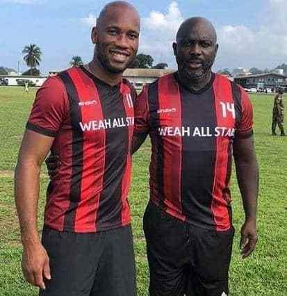 Weah, Drogba, Samuel Eto'o' to visit Lagos