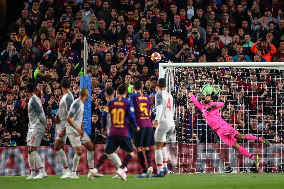 Messi Freekick Vs Liverpool May2019