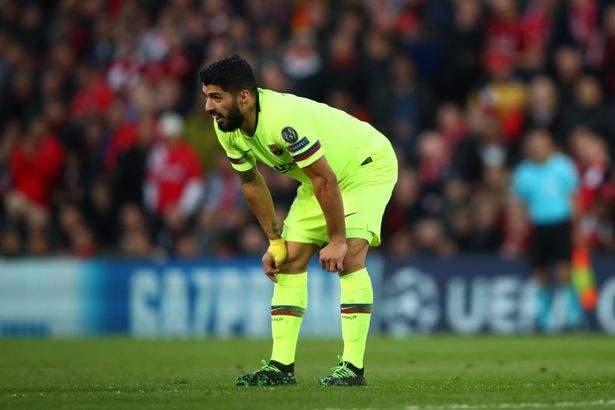 Suarez Vs Liverpool Anfield May2019