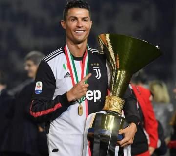 Juventus: What Ronaldo said after receiving Serie A MVP award, lifting league trophy