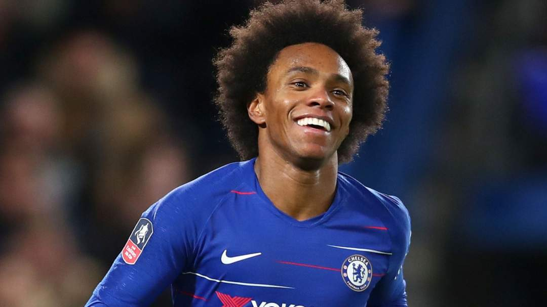 Champions League: Willian sends message to Chelsea, Lampard