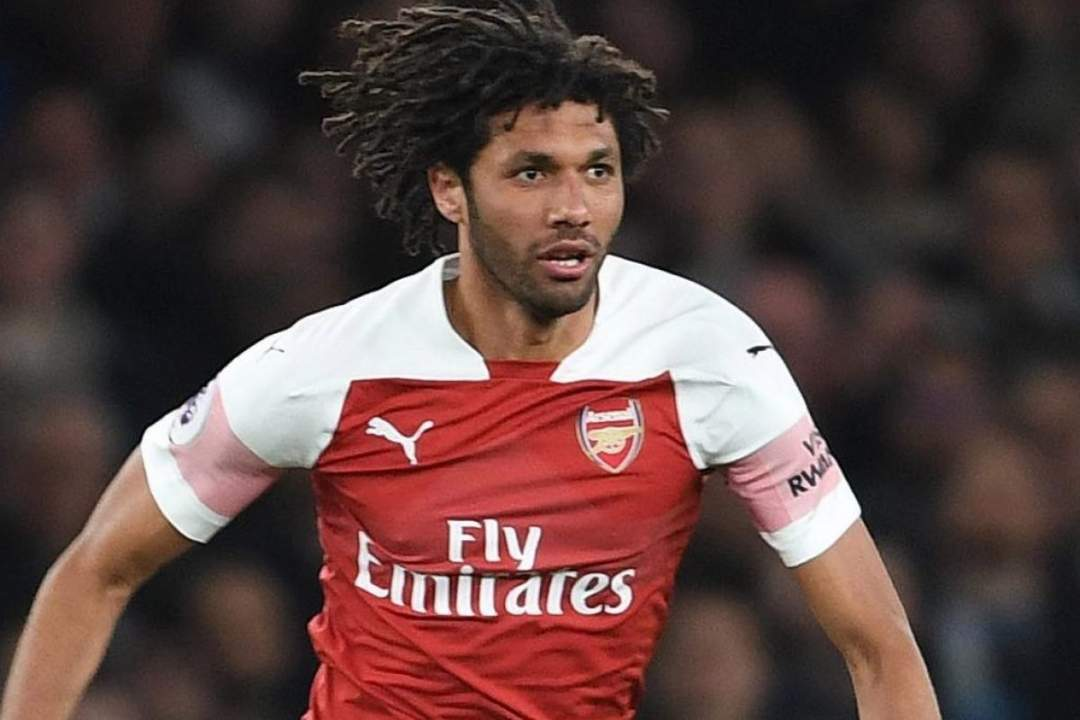 Arsenal Star Mohamed Elneny In Egypt