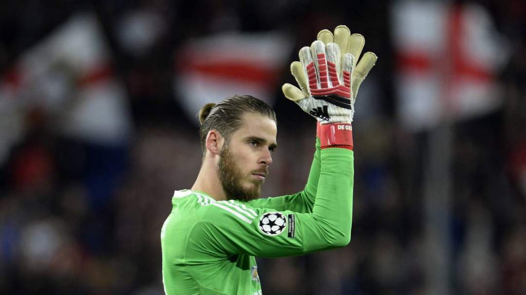 EPL: De Gea speaks after signing new contract at Man Utd