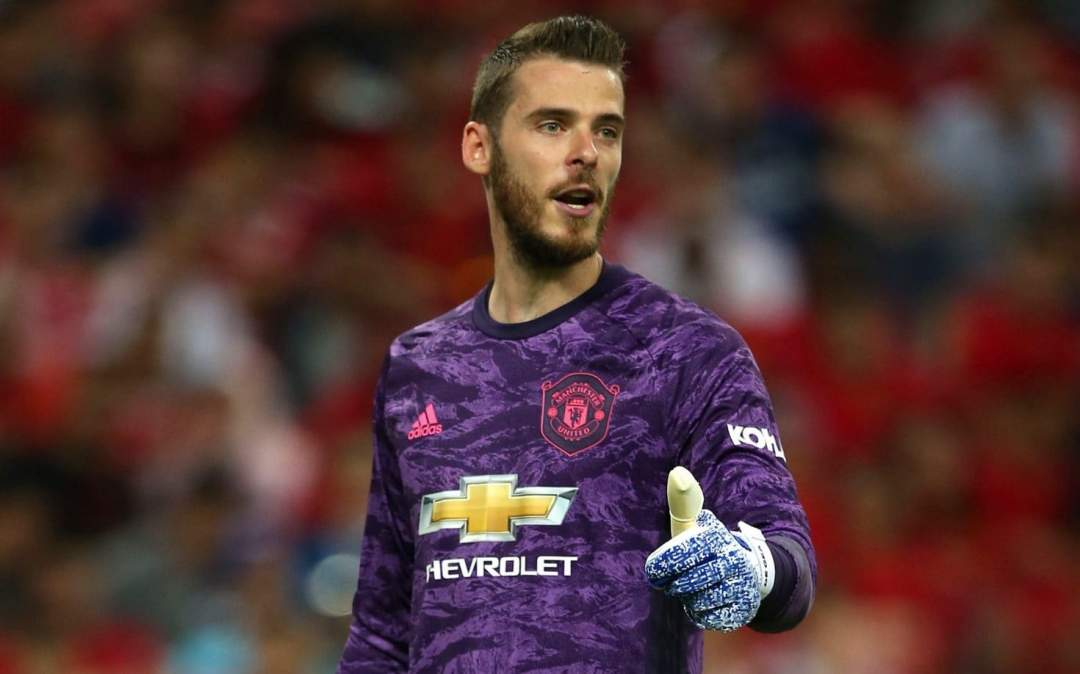 EPL: De Gea sets Premier League record in Man United's 1-1 draw with Everton