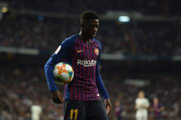 LaLiga: Why Barcelona are angry with Dembele over latest hamstring injury