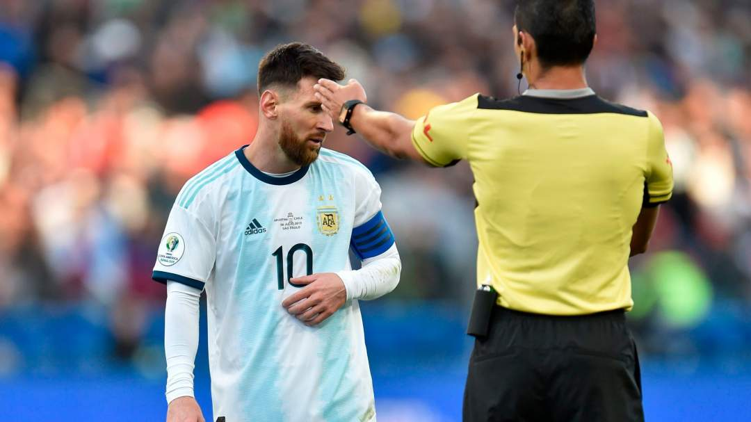 Messi Red Card July2019