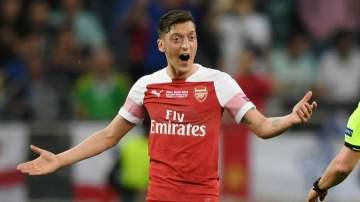 EPL: Two top European clubs battle for Arsenal's Mesut Ozil