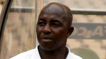 NFF finally reacts to FIFA's life ban on Samson Siasia, reveals next action