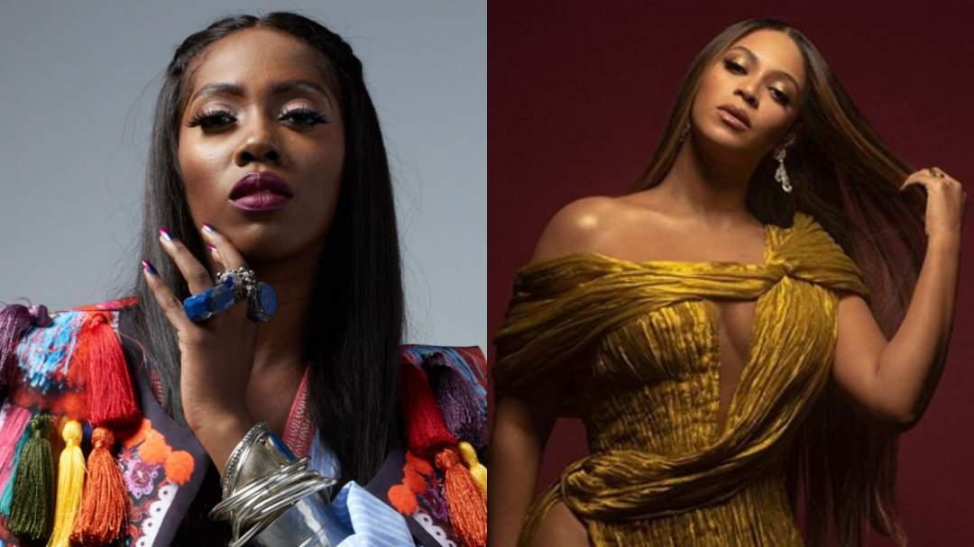 Tiwa Savage Beyonce