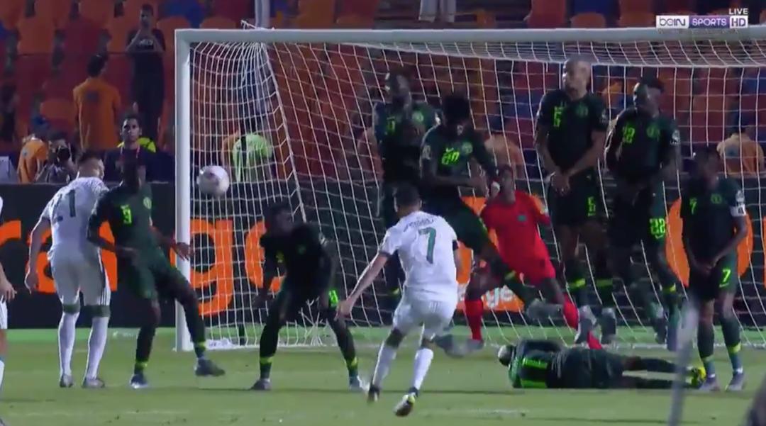Goal Afcon Riyad Mahrez