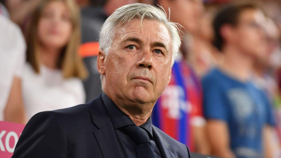 EPL: Ancelotti makes decision between Arsenal, Everton