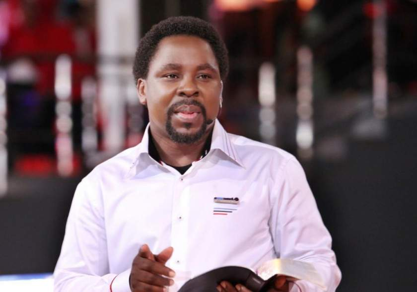 Tb Joshua With Bible 1