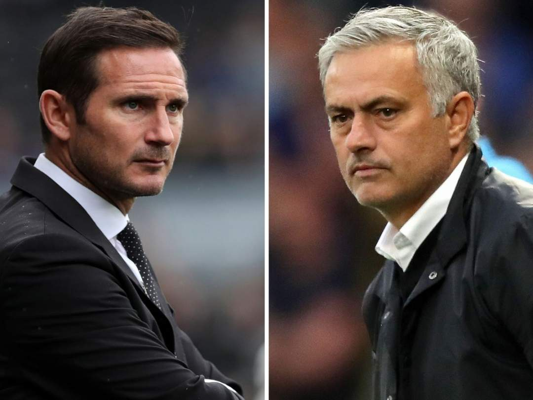 0_Frank Lampard And Jose Mourinho