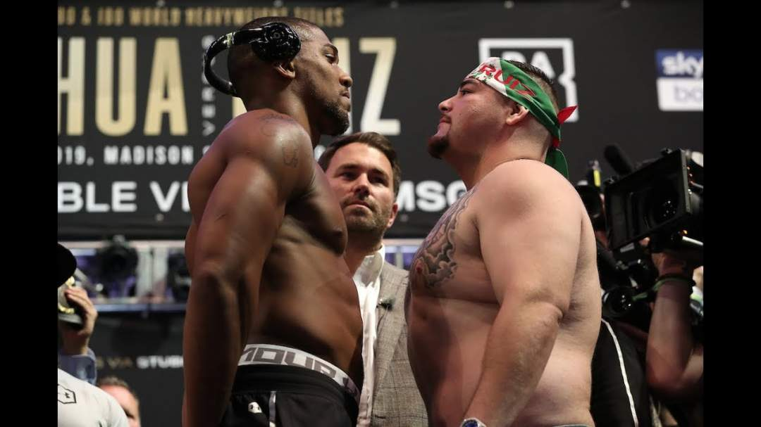 Anthony Joshua Vs Andy Ruiz Jr 1