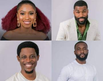 BBNaija: Mercy, Mike, Seyi, Gedoni, four other housemates up for eviction