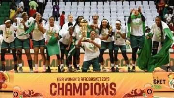 Buhari reacts as Nigeria's D'Tigress beat Senegal to win fourth AfroBasket title